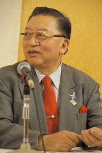 ぺマ・ギャルポ氏(チベット出身・桐蔭横浜大学・大学院教授)